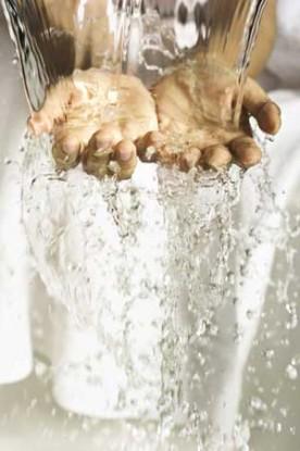 image - hands in water - hands in water